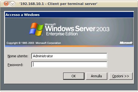 Windows Server login